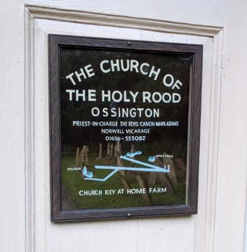 Ossington church door