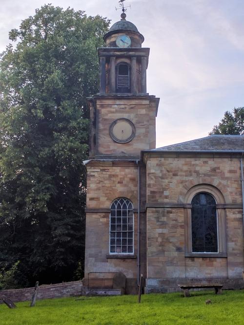 Ossington church tower